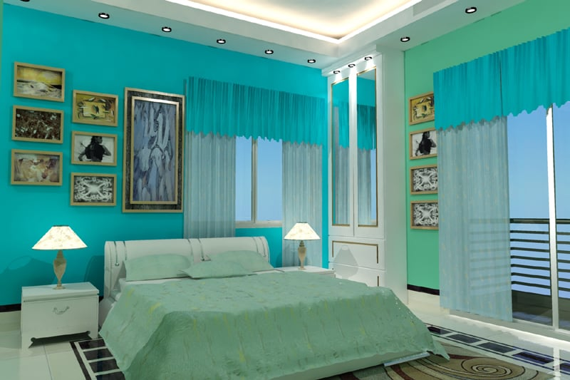 large bedroom interior design