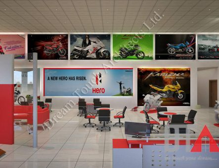 Hero-office interior design in dhakac